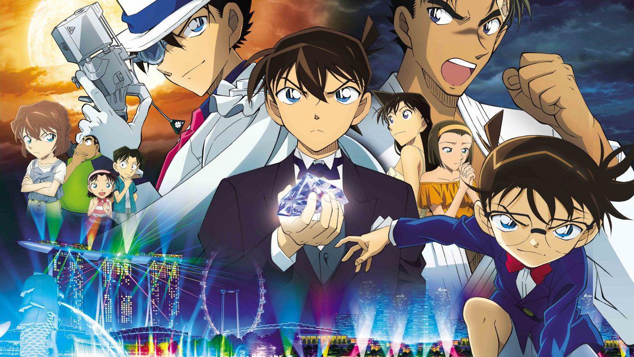 Il 23° film dedicato a Detective Conan debutterà a Singapore