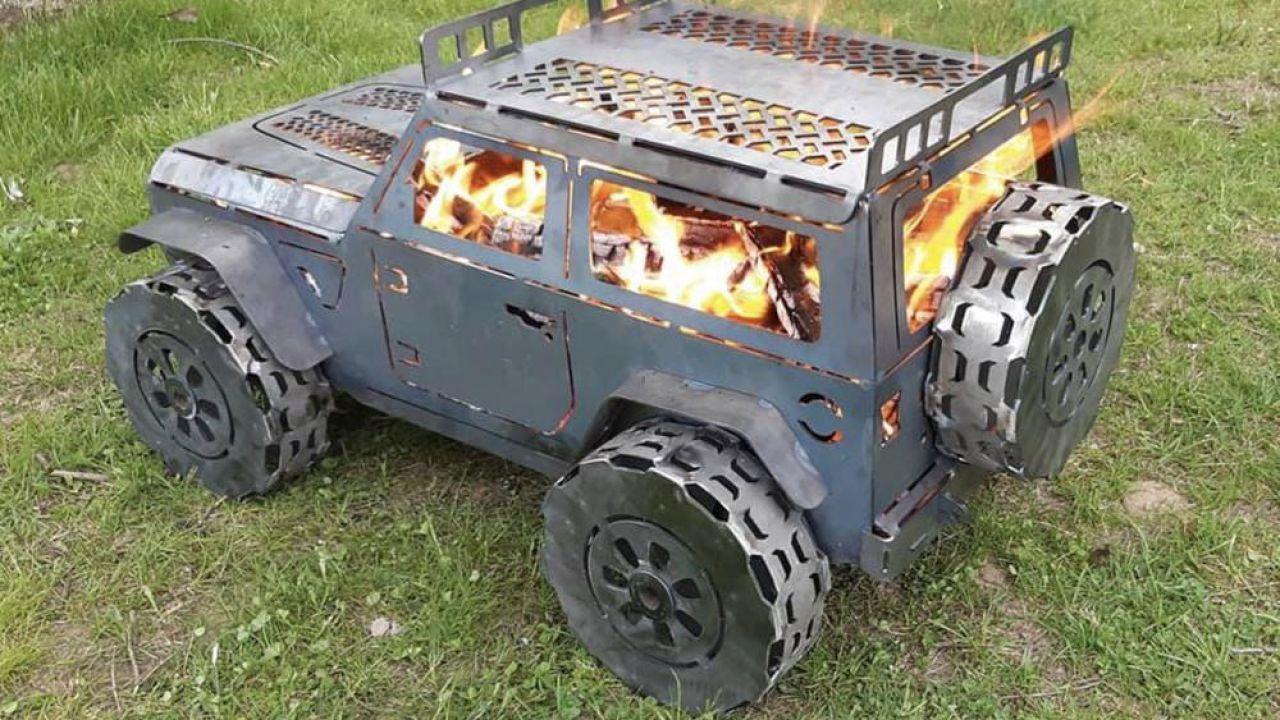 Il barbecue Jeep Wrangler potrebbe essere l'oggetto dell'estate 2020