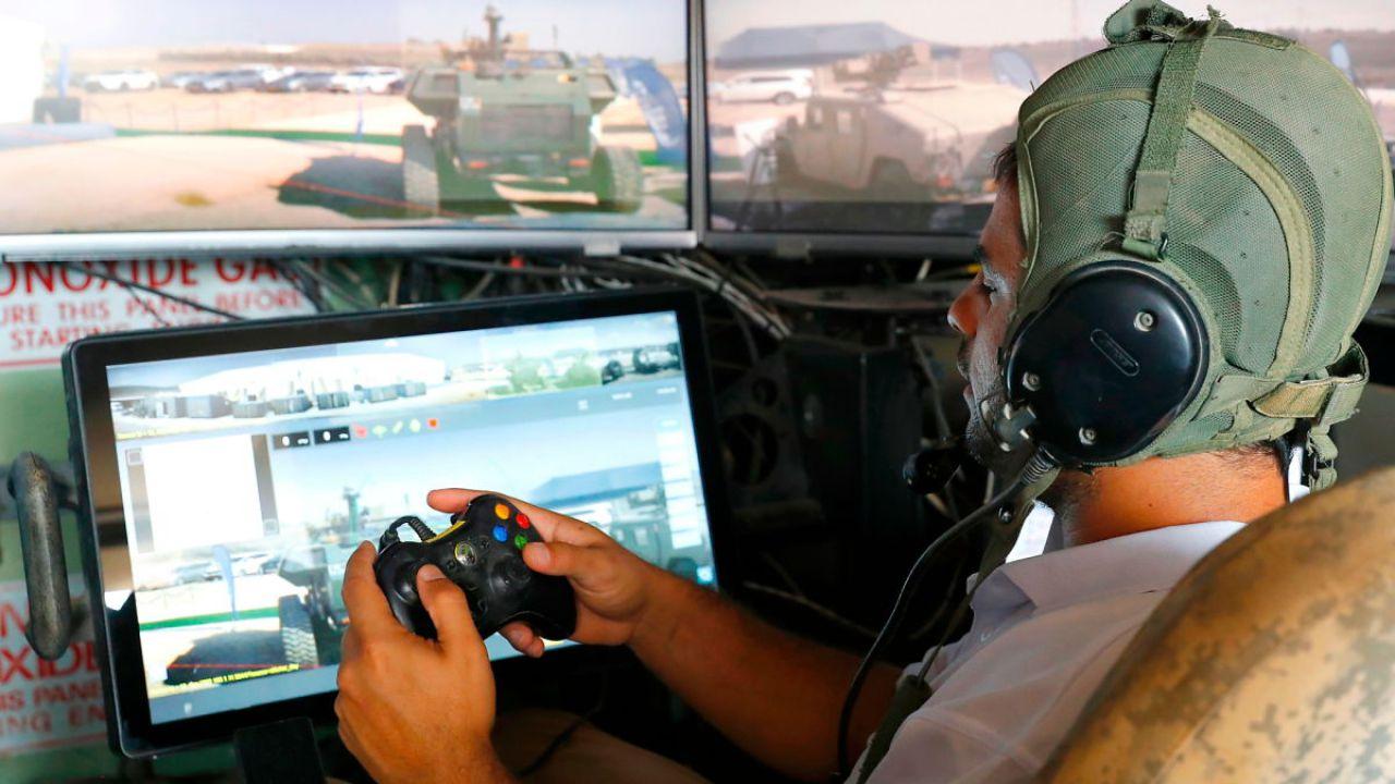 Il carro armato si guida con il controller della Xbox: succede in Israele