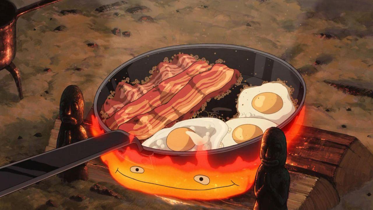 Il Castello Errante di Howl: un po' di segreti sulla ricetta uova e bacon del film Ghibli