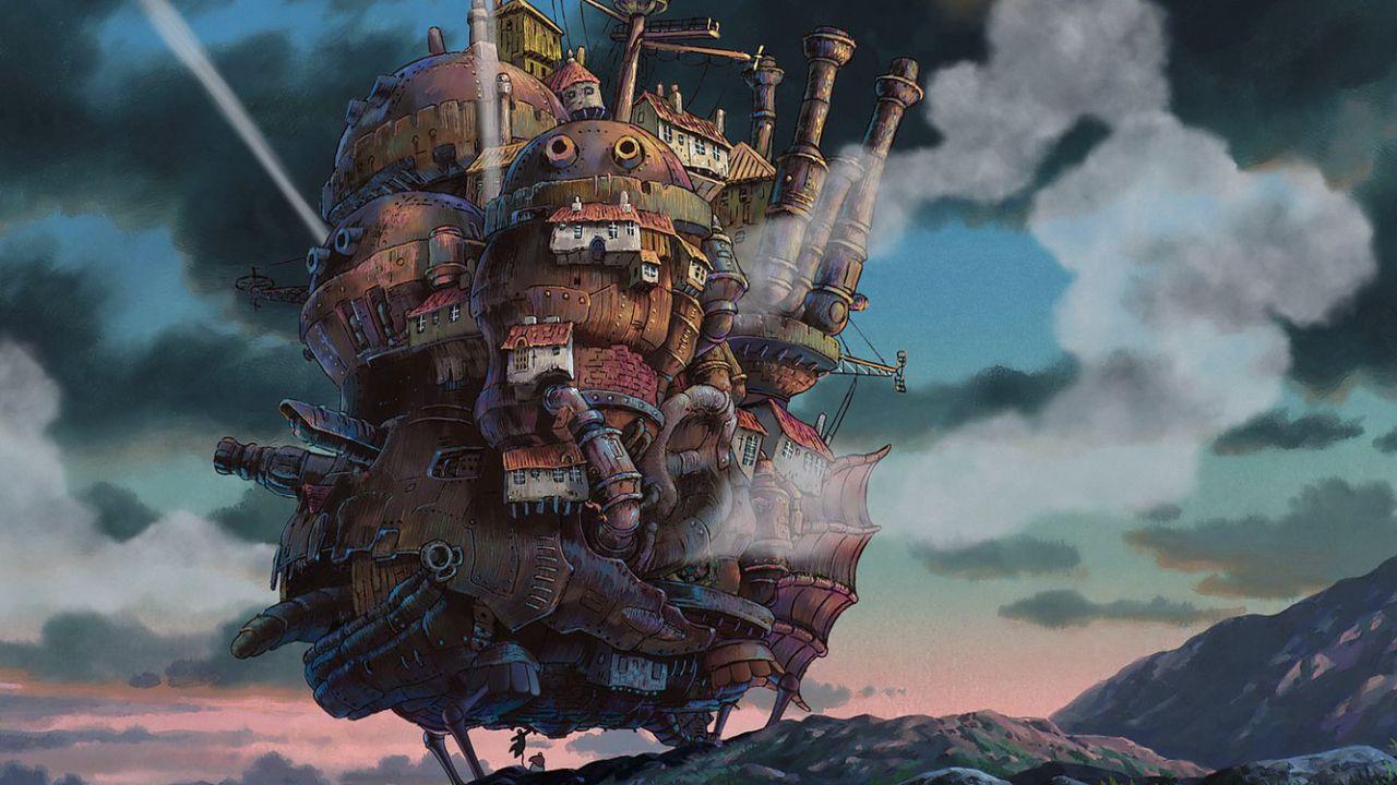 Il castello errante di Howl, Ponyo e altri film Ghibli in arrivo su Netflix il 1 aprile