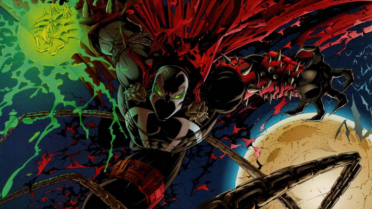 Il demone Spawn si unisce a Kratos di God of War in questa splendida illustrazione