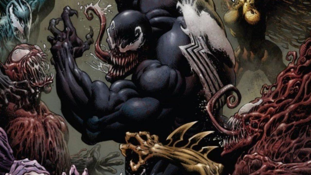 Il disegnatore di Venom ci mostra l'artwork di un nuovo simbionte della serie