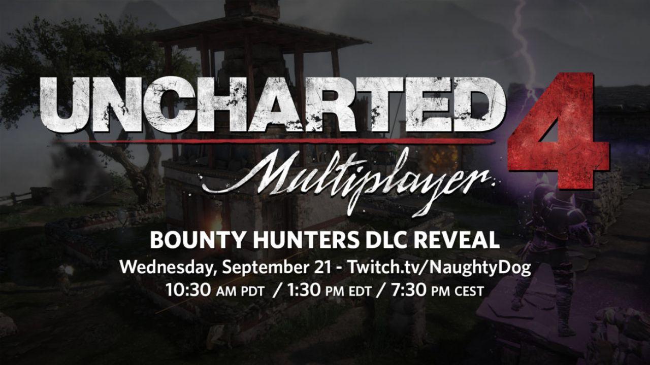 Il DLC Bounty Hunters di Uncharted 4 sarà svelato il 21 settembre