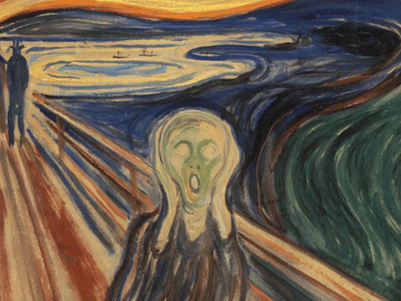 Il famosissimo quadro 'L'urlo' di Munch si sta deteriorando, ecco perché