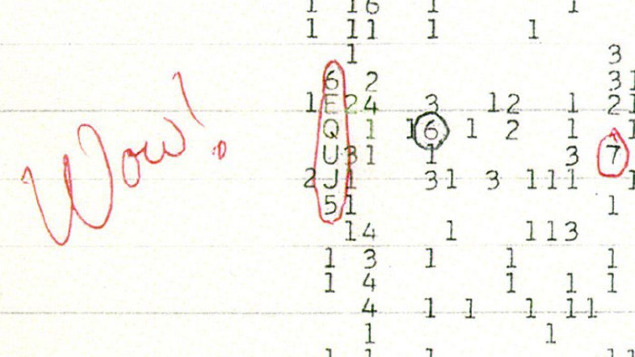 Il famosissimo segnale 'Wow!', captato dallo spazio, potrebbe essere stato identificato