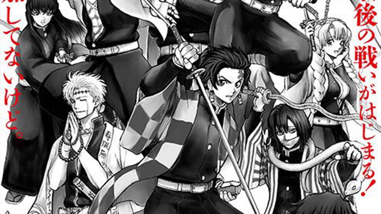 Il film di Gintama sfrutta Demon Slayer: le illustrazioni di Sorachi con Tanjiro e hashira