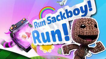 Il frenetico Run Sackboy Run debutta su PlayStation Vita