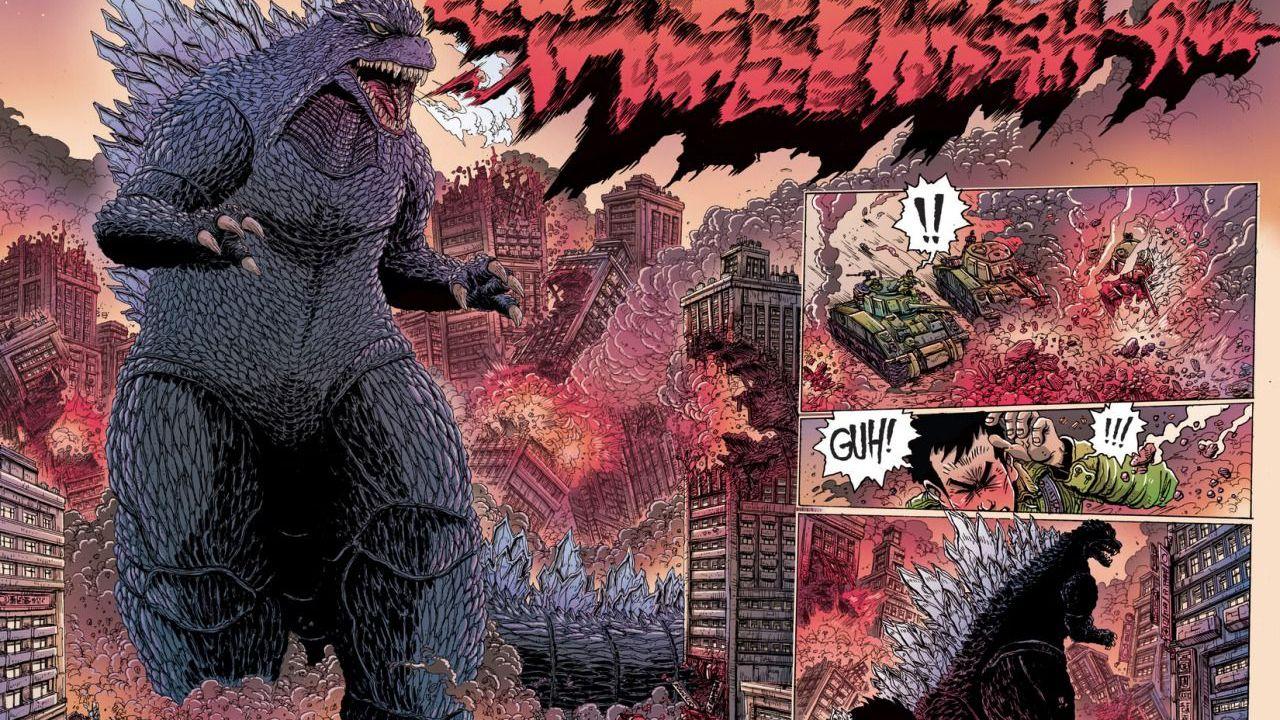 Il fumetto Godzilla - La Guerra dei Cinquant'anni giungerà presto in Italia