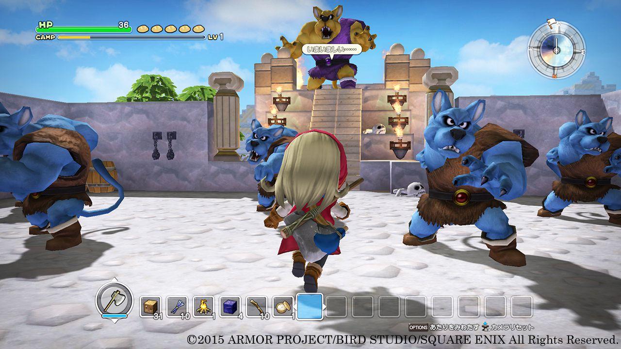 Il gameplay di Dragon Quest Builders si mostra in nuovi trailer