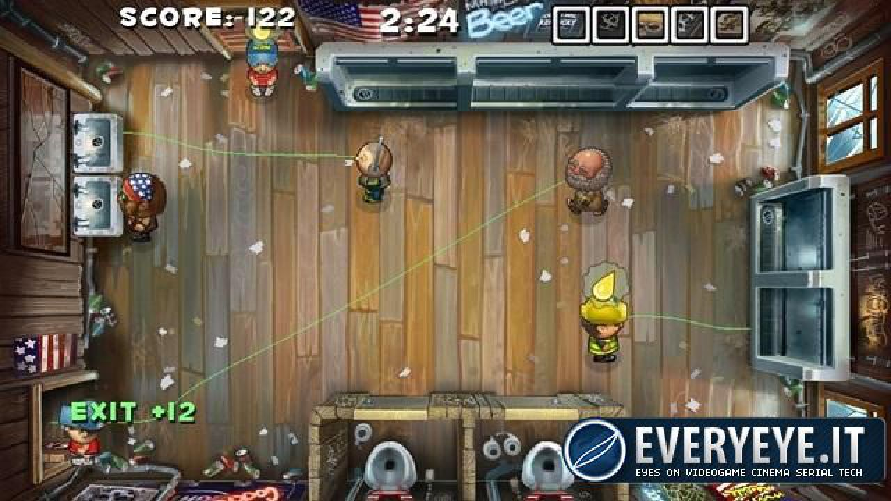 Il gestionale Men's Room Mayhem in arrivo prossimamente su PS Vita