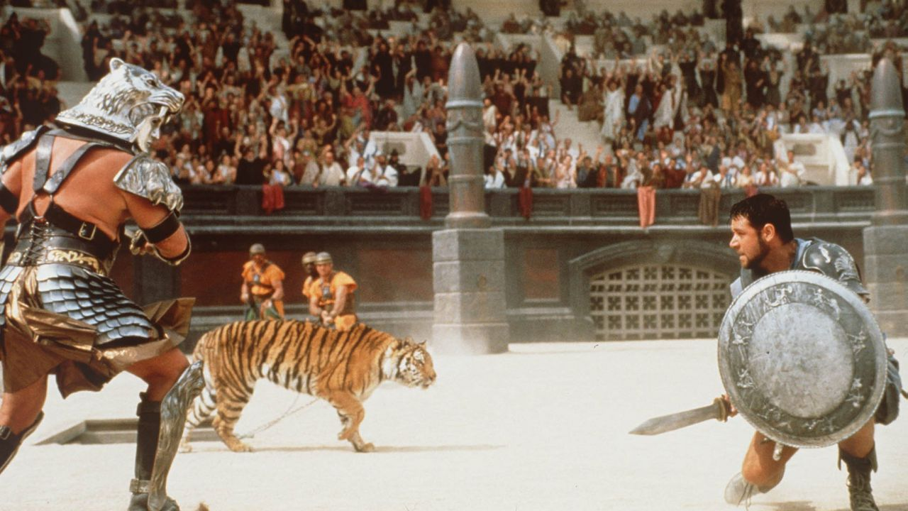 Il Gladiatore: l'epico scontro mai girato che tutti avremmo voluto vedere