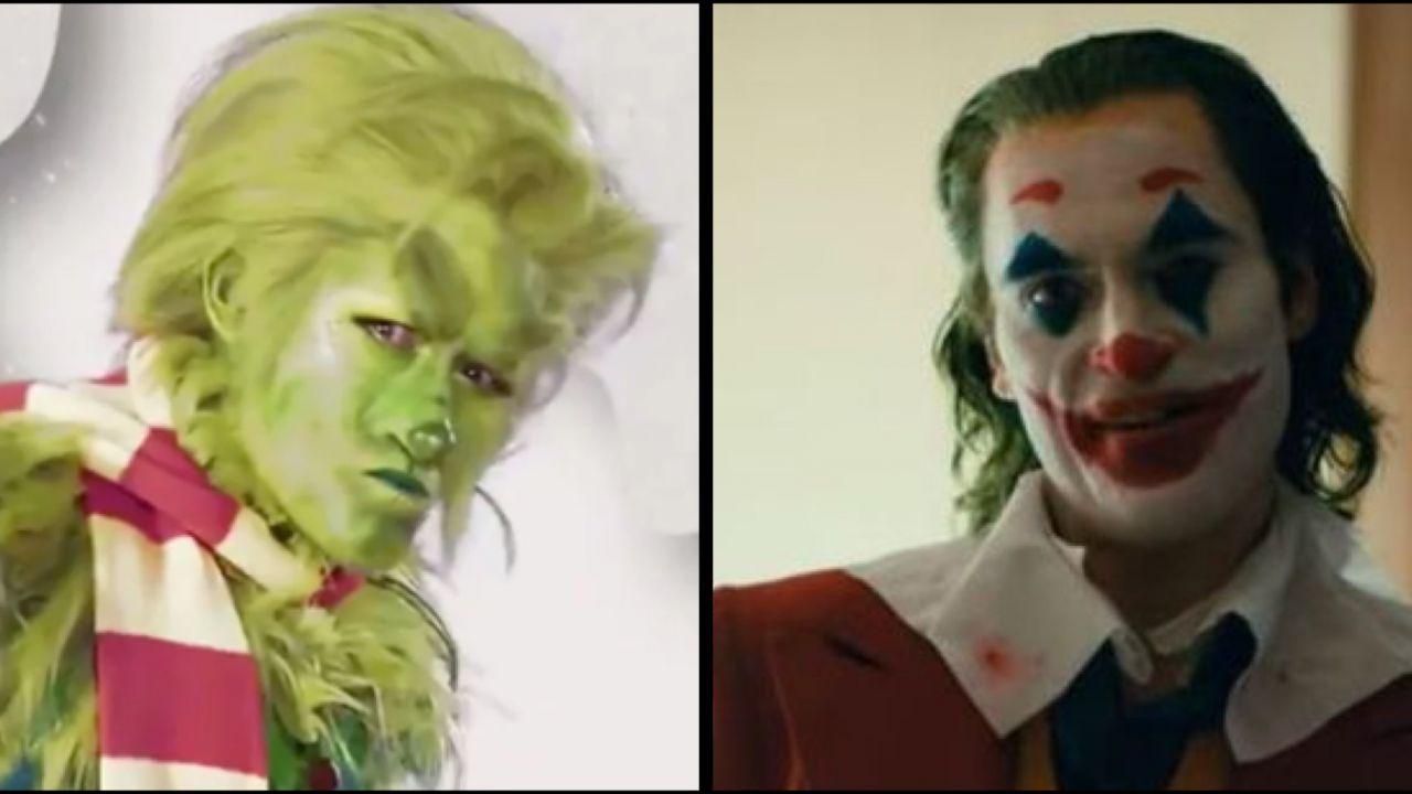 Il Joker di Phoenix ha ispirato il Grinch di Matthew Morrison: ecco come