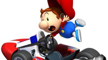 Il kart gonfiabile di Mario Kart si mostra in video