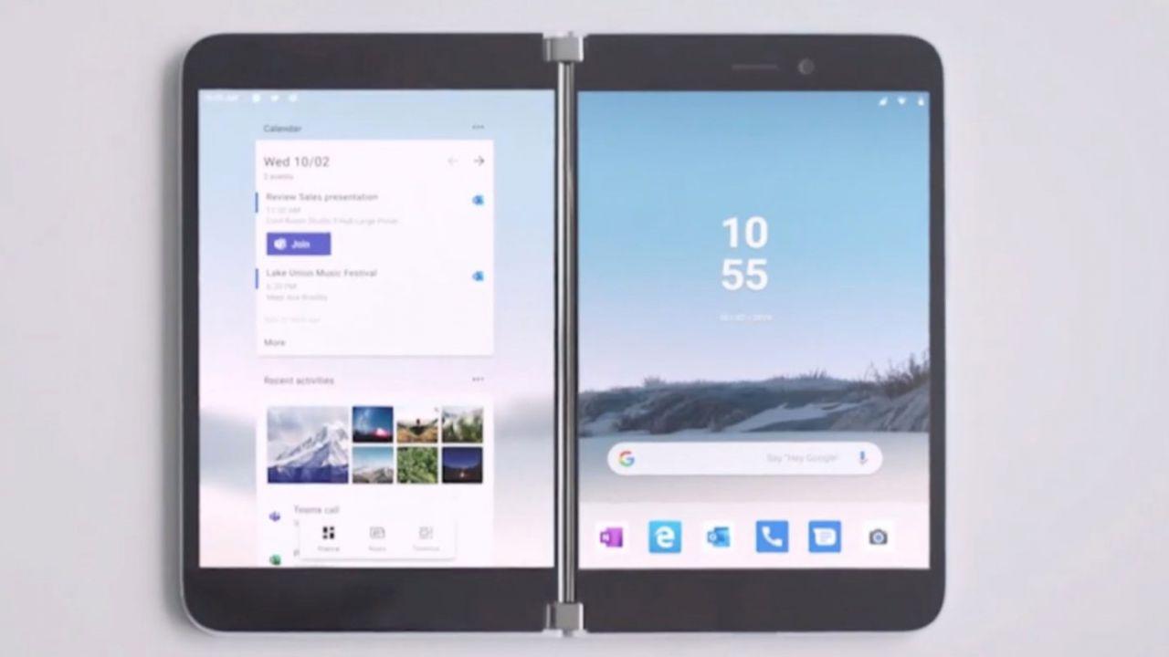 Il lancio del Surface Duo sarebbe ormai imminente: Microsoft punta ad anticipare Samsung