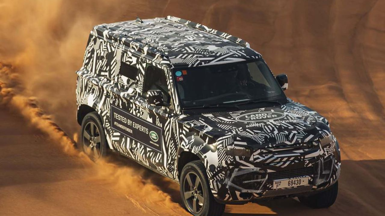 Il Land Rover Defender 2020 si farà 6.500 Km per arrivare al Motor Show di Francoforte
