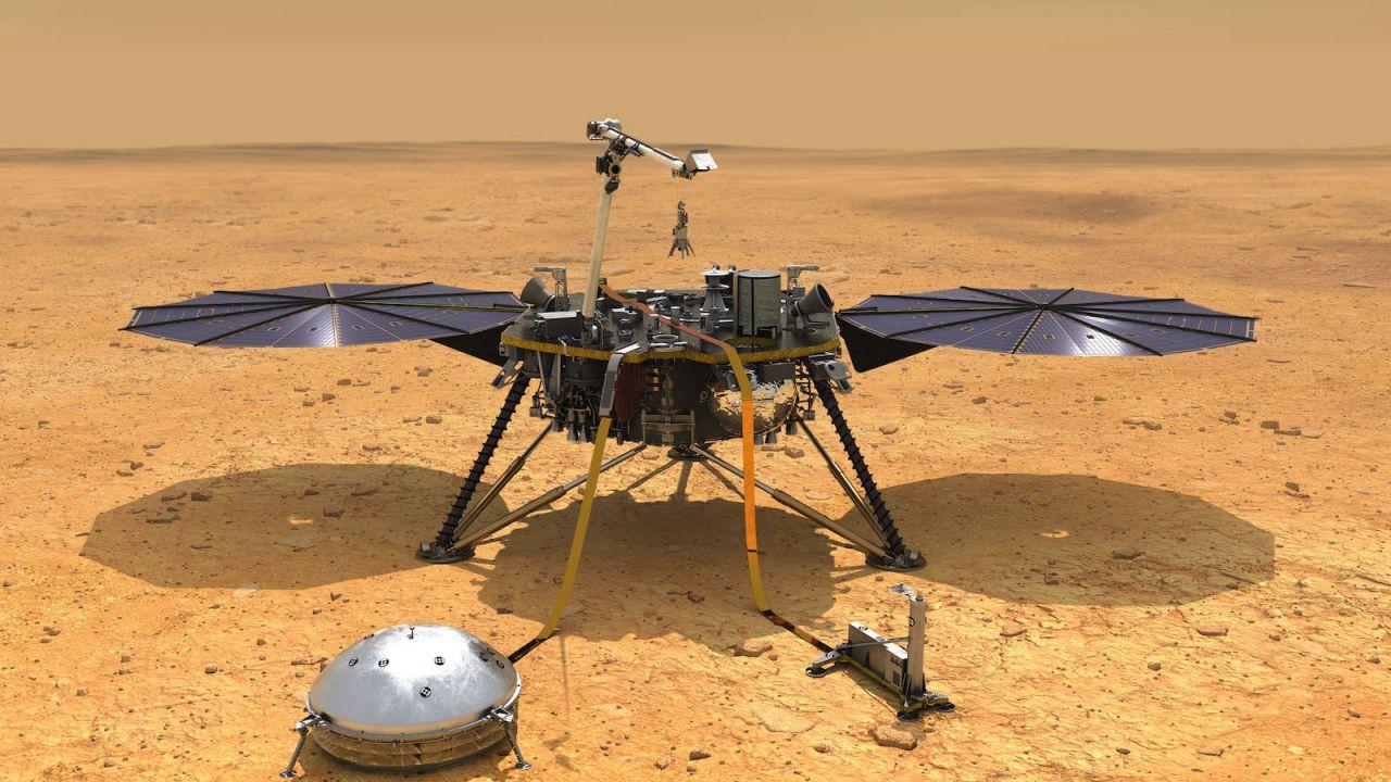 Il lander InSight continua a lottare contro il suolo di Marte. Ecco cos'ha scoperto