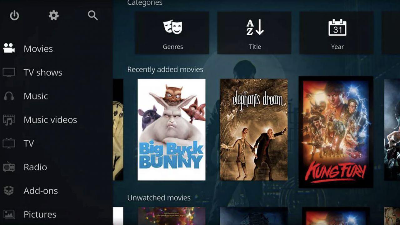 Il lettore multimediale Kodi arriva finalmente su Xbox One
