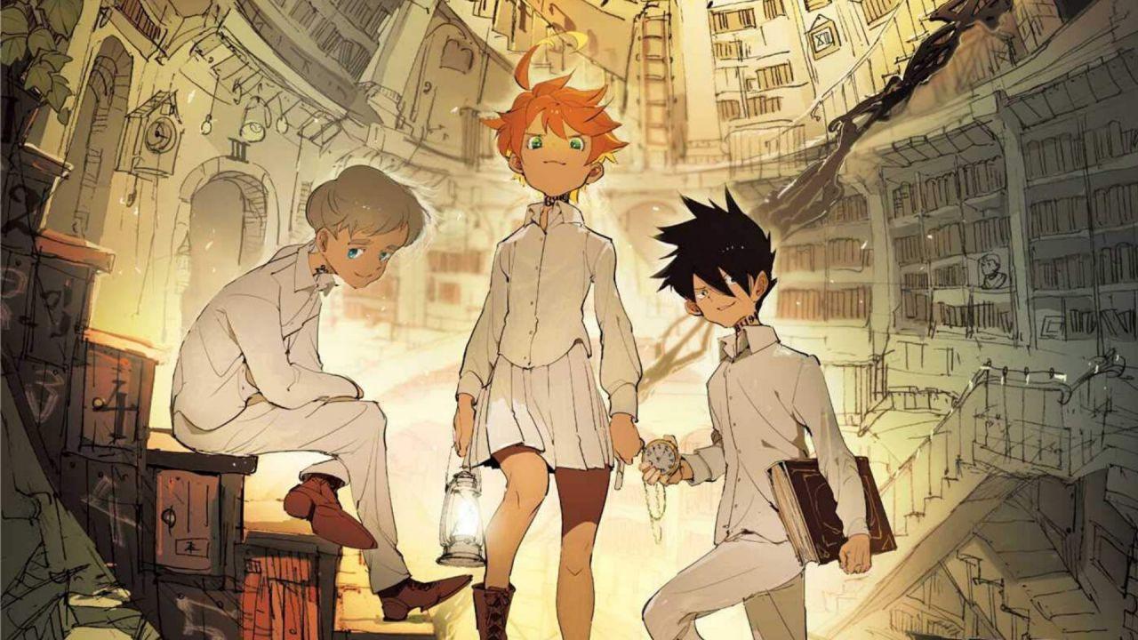 Il manga di The Promised Neverland si rinnova con un nuovo capitolo speciale