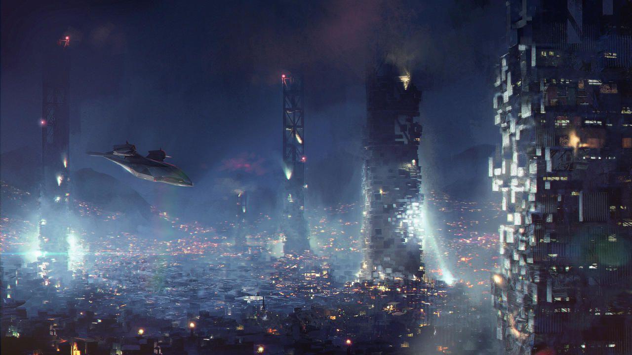 Il mondo cyberpunk di Deus Ex Mankind Divided si mostra in questi concept art