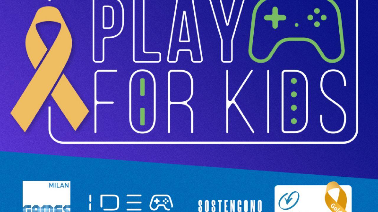 Il mondo esport scende in campo per la Fondazione Umberto Veronesi con Play For Kids