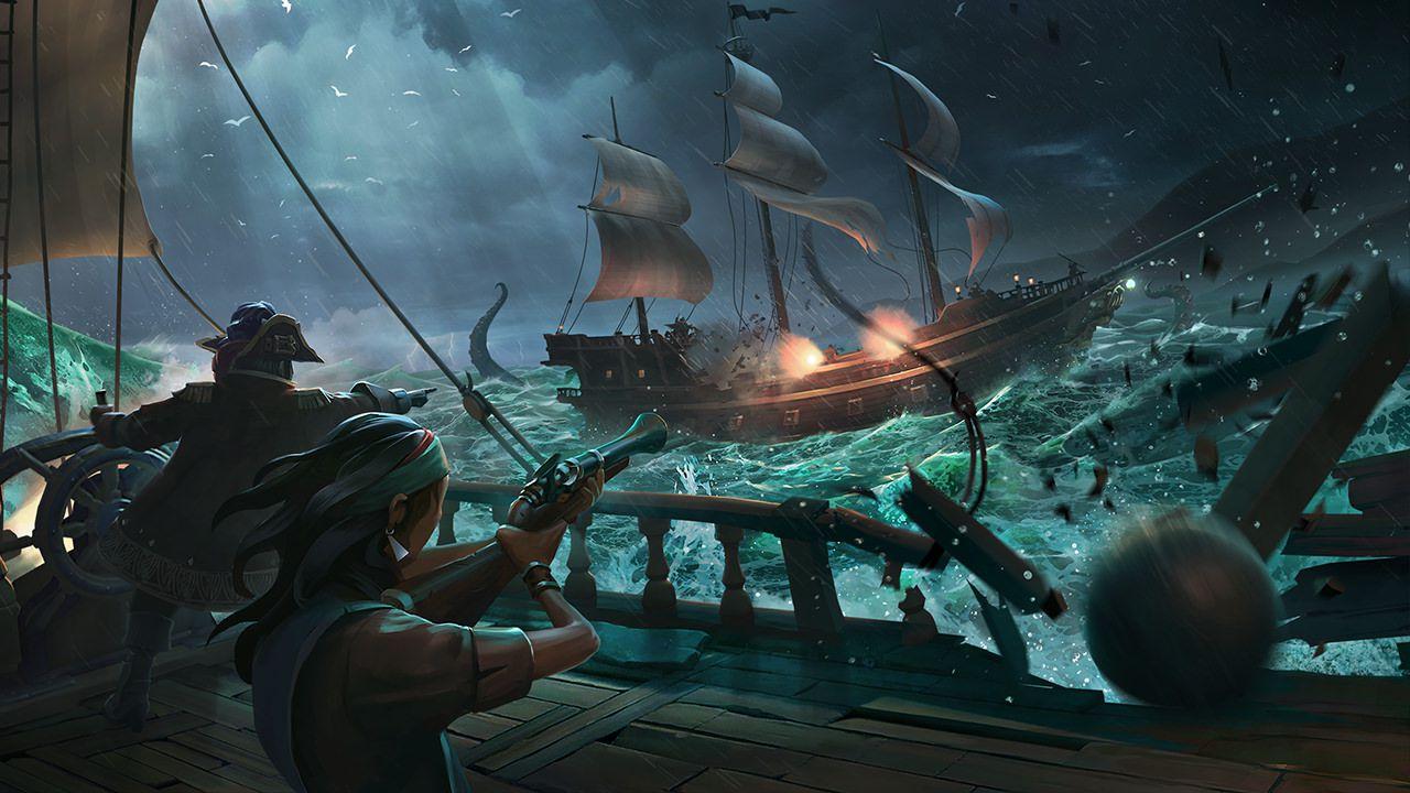 Il mondo di Sea of Thieves non è generato proceduralmete