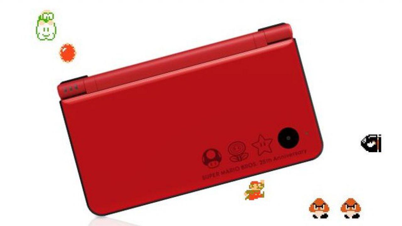 Il Nintendo DSi XL per il 25° anniversario di Mario in arrivo in Europa