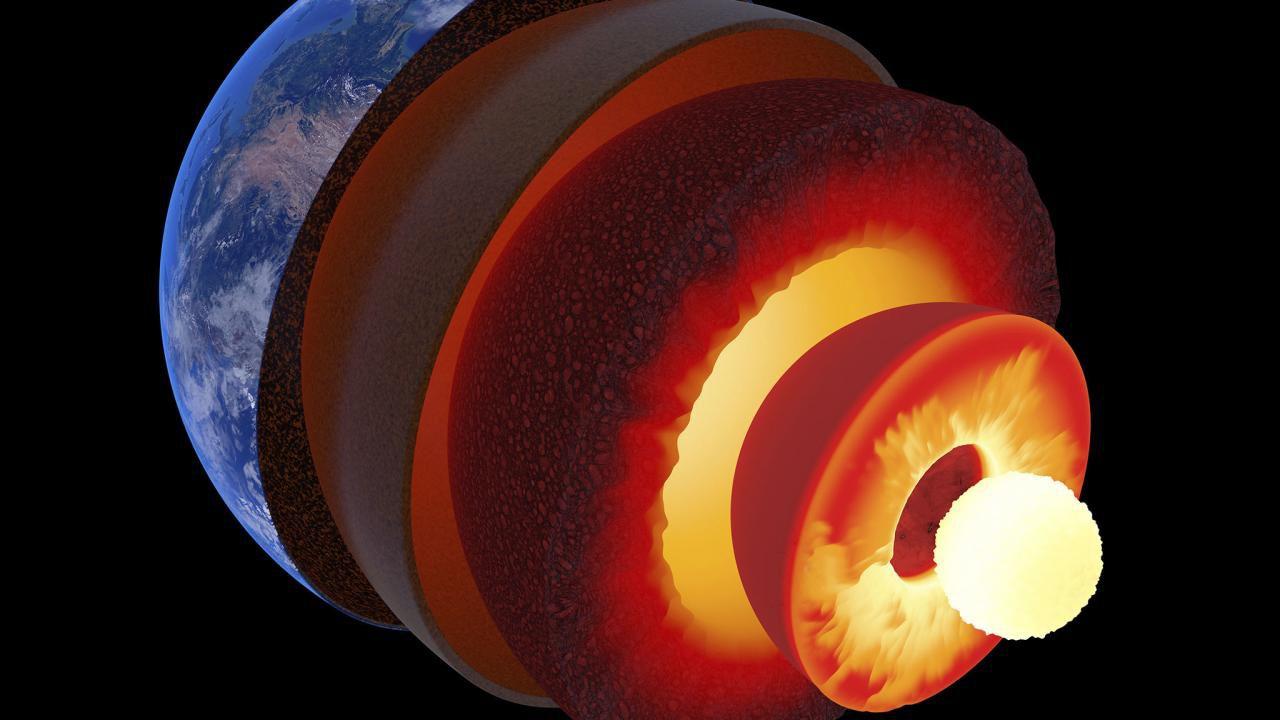 Il nucleo interno della Terra è più giovane del previsto