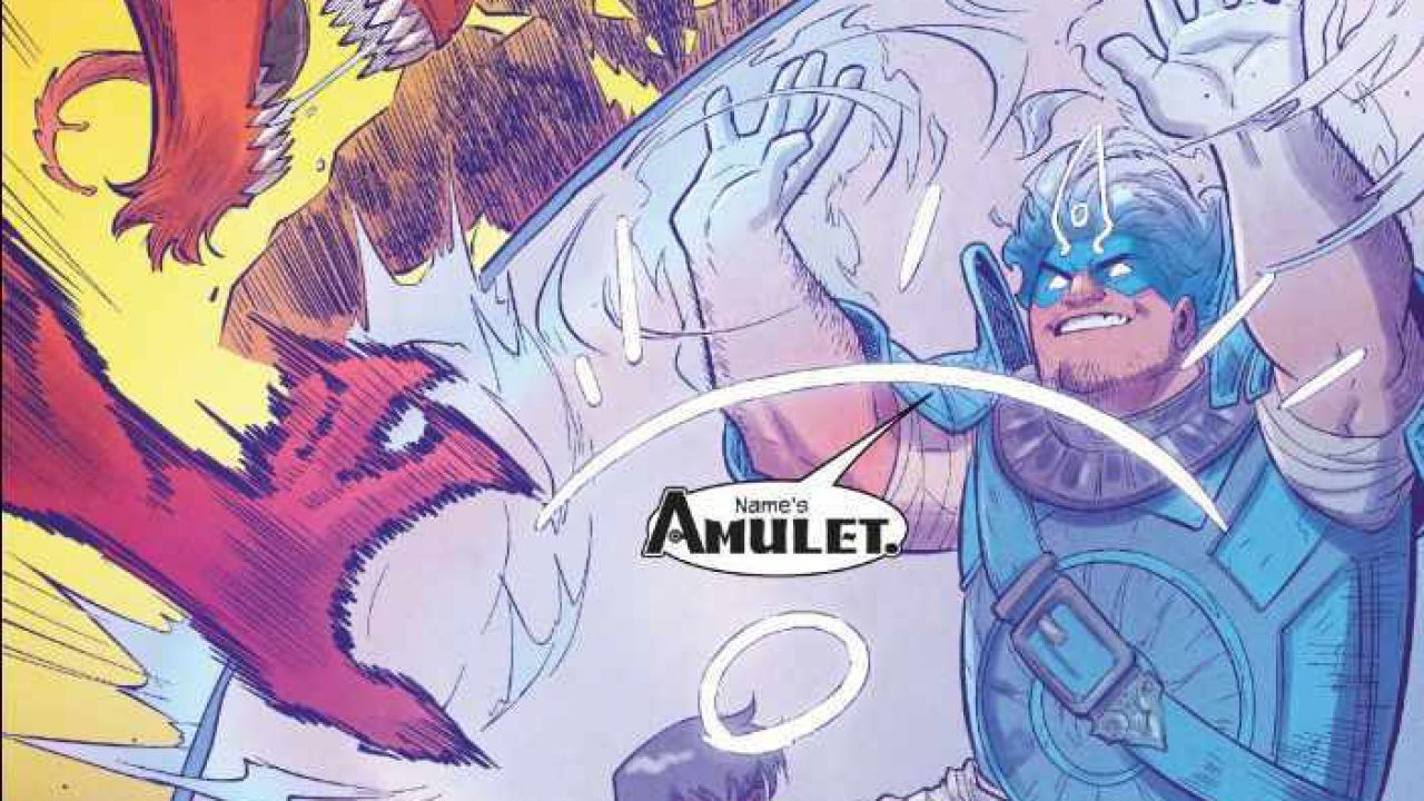 Il numero tredici di Ms.Marvel introduce il nuovo eroe Amulet