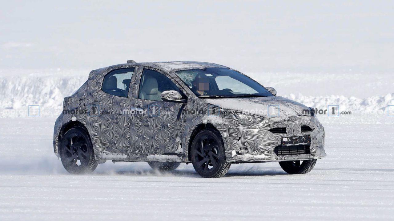 Il nuovo crossover Toyota fotografato al Circolo Polare Artico