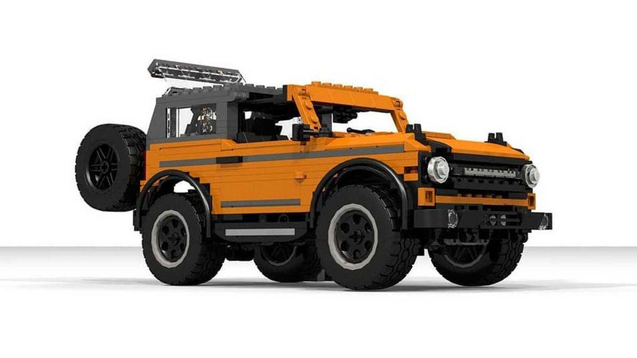 Il nuovo Ford Bronco 2021 costruito con i LEGO da un ingegnere dell'ovale blu