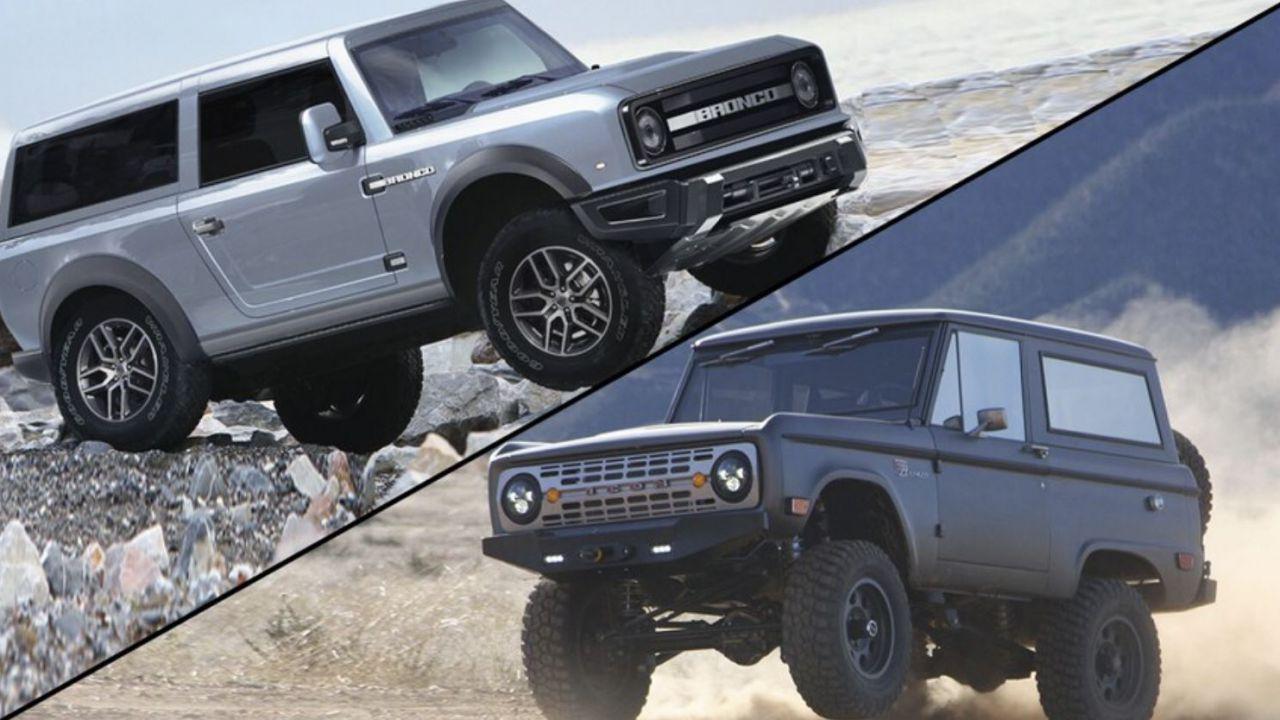 Il nuovo Ford Bronco sarà venduto in tre design diversi?