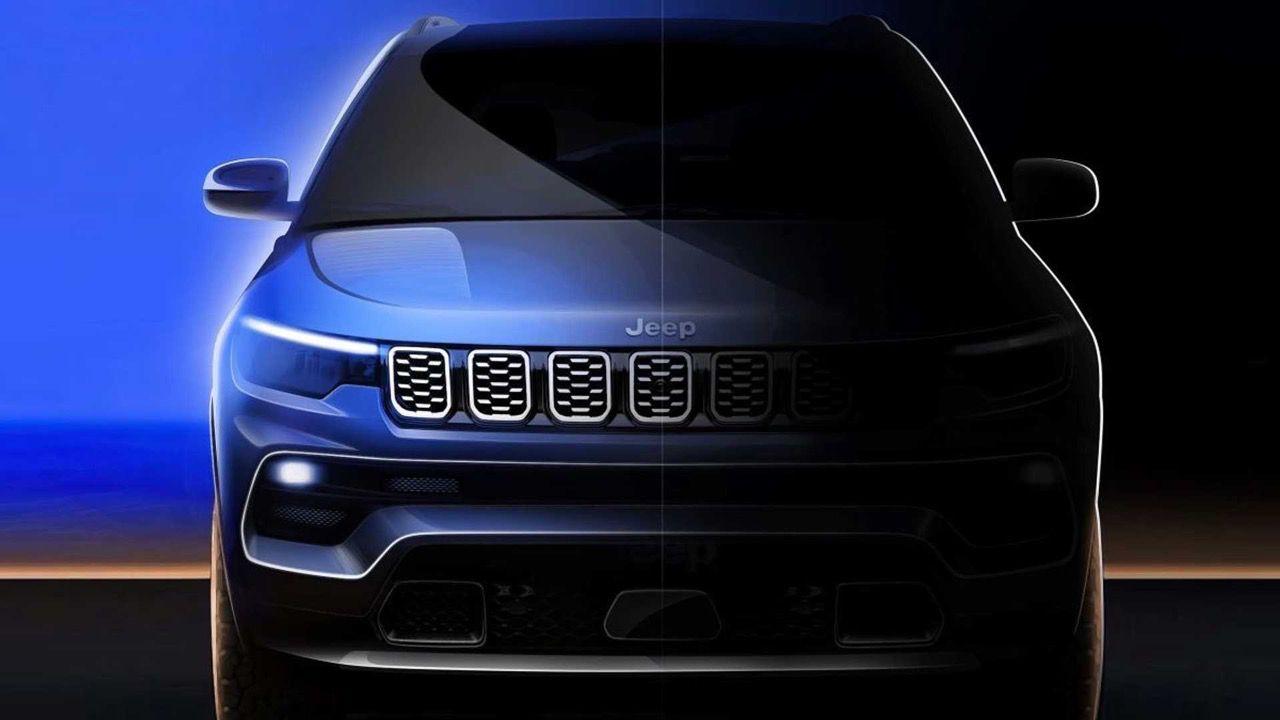 Il nuovo Jeep Compass mostra le differenze rispetto al modello precedente