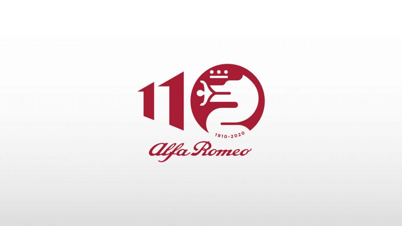 Il nuovo logo dei 110 anni di Alfa Romeo: un 2020 pieno di eventi