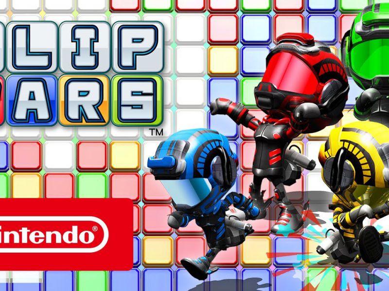 Il party game Flip Wars uscirà il 6 luglio su Switch; ecco il trailer di lancio