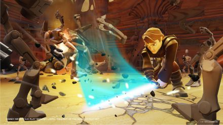 Il playset Twilight of the Republic di Disney Infinity 3.0 si mostra in video