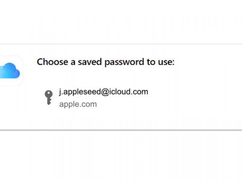 Il portachiavi di iCloud arriva su Google Chrome tramite un'estensione: ecco come funziona
