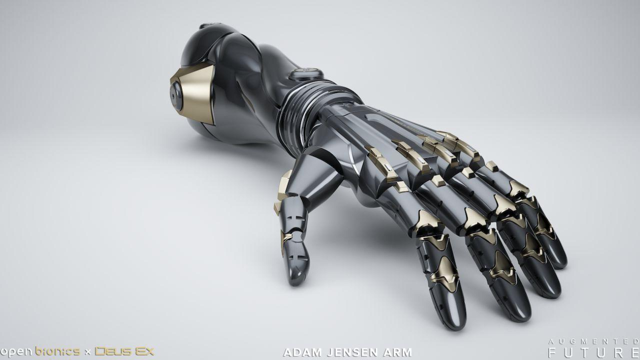 Il potenziamento fisico di Deus Ex prende vita