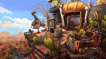 Il primo capitolo della serie Deponia in arrivo su PlayStation 4