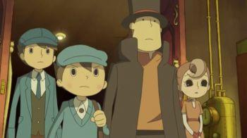 Il Professor Layton approda sui social network in Giappone