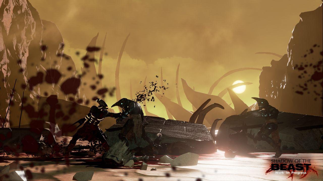 Il remake di Shadow of the Beast arriva in esclusiva PS4
