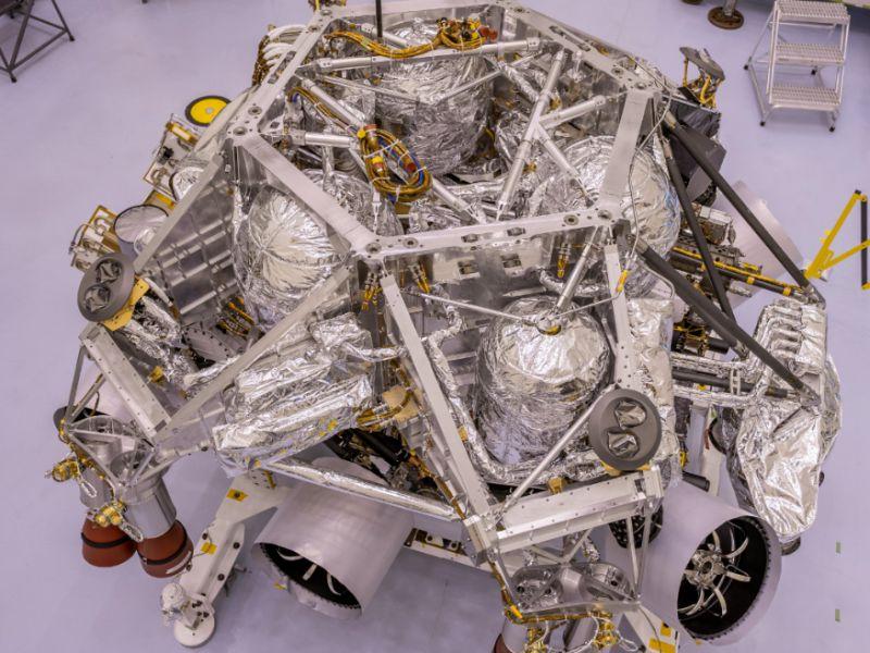 Il rover Perseverance sempre più vicino al lancio: pronto il pacco per Marte!