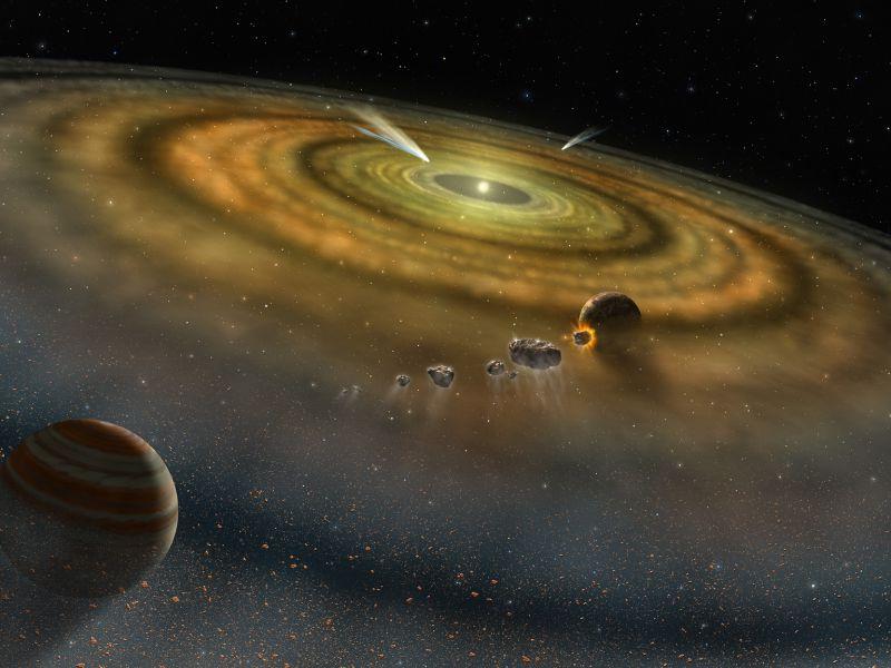 Il nostro Sistema Solare potrebbe essersi creato grazie a una collisione nella Via Lattea