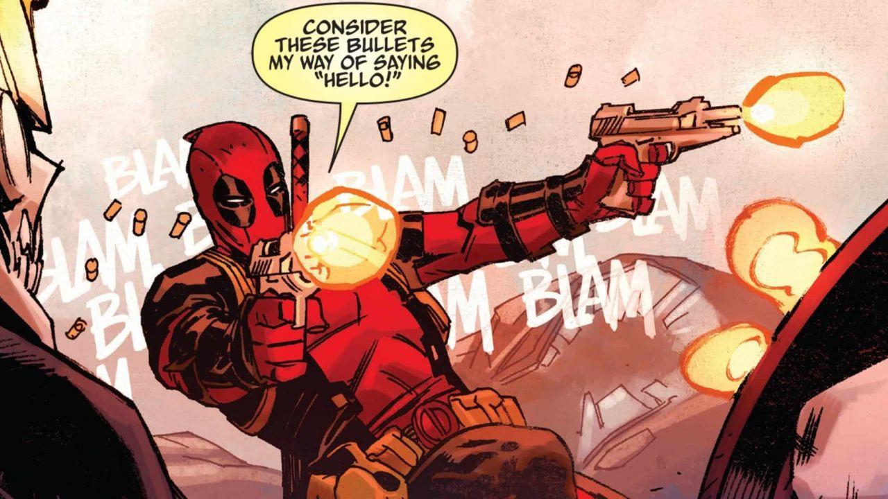 Il sito di Deadpool rivela alcune novità sulla sua nuova serie di fumetti