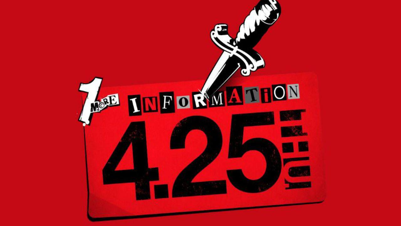 Il sito di Persona 5 S si aggiorna: nuove informazioni in arrivo il 25 Aprile