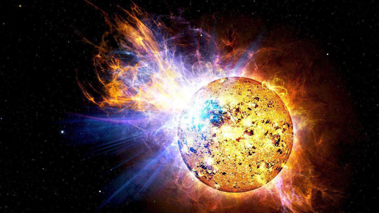 Il nostro sole potrebbe essere ancora capace di emettere 'Super-brillamenti'