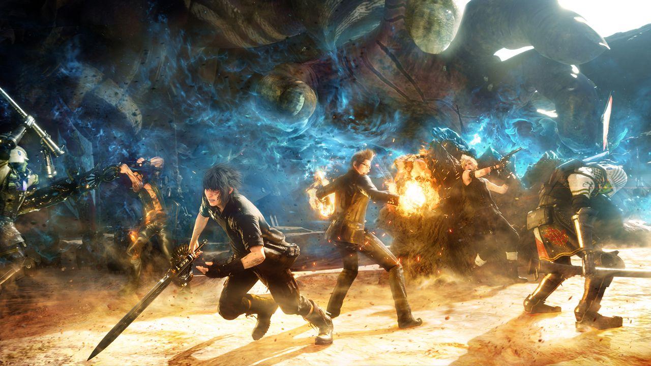Il team di Final Fantasy XV in collaborazione con gli sviluppatori di Just Cause 3