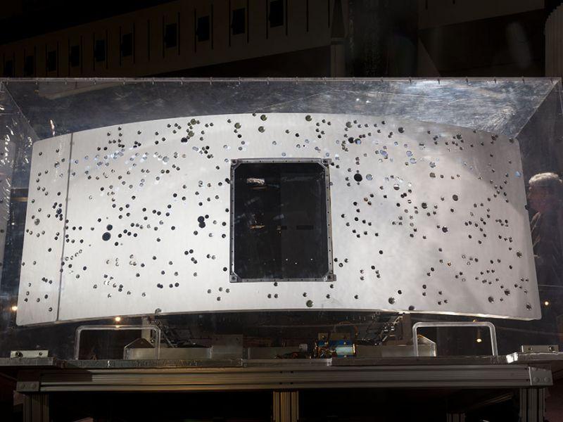 Il telescopio spaziale Hubble può raccontarci trent'anni di impatti dai detriti spaziali