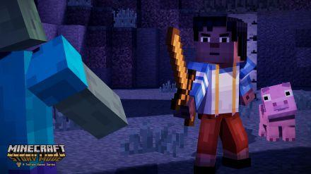 Il terzo episodio di Minecraft Story Mode giocato dall'inizio alla fine in un video