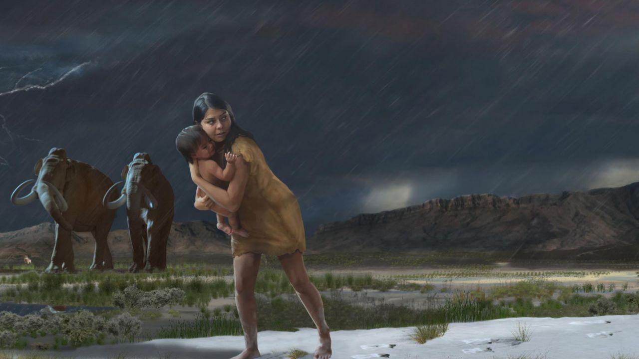 Il viaggio che 10,000 di anni fa fecero un bambino e la sua balia
